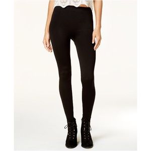 Ultra Flirt Juniors Fleece lined leggings Black
